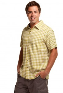 Cariloha Bamboo Button-Front Shirt and Cargo Shorts