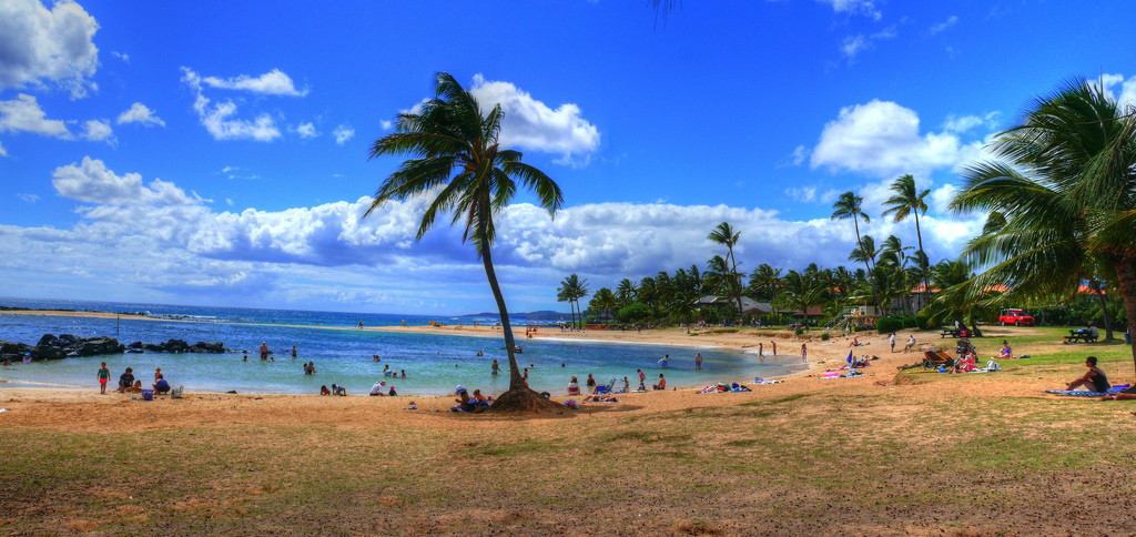 Poipu Beach, Kauai, Hawaii - Location of New Cariloha Store