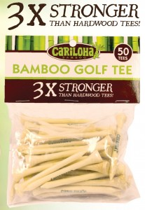 Bamboo Golf Tees by Cariloha