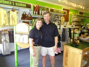 Cariloha Bamboo Store Owners in Bar Harbor, Maine