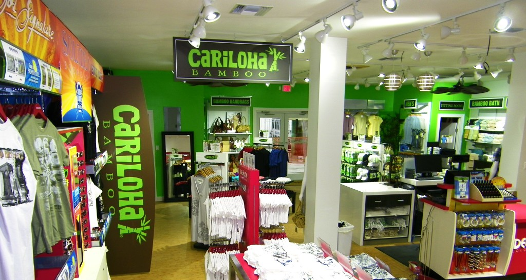 Cariloha Store in Freeport, Grand Bahamas