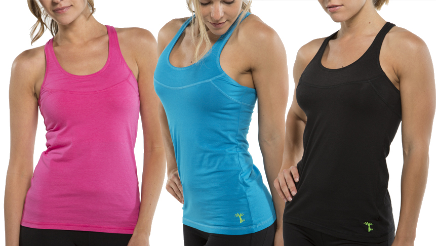 Cariloha Bamboo Fitness Wear - racerbacks