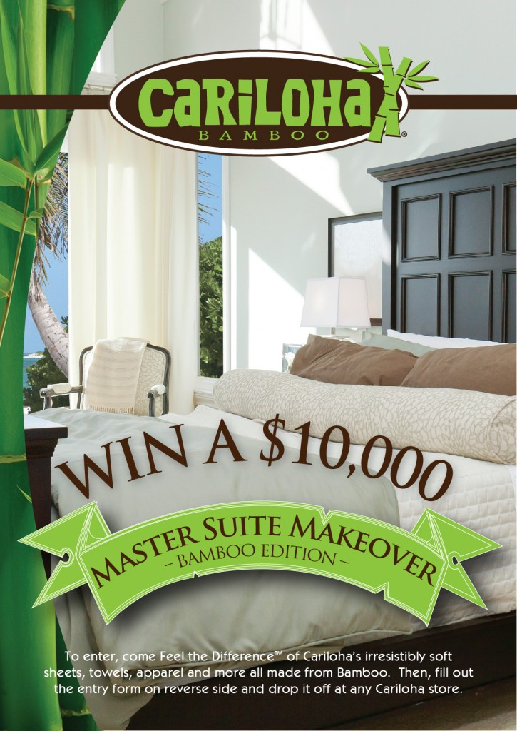 OBM and Cariloha Master Suite Sweepstakes 2013