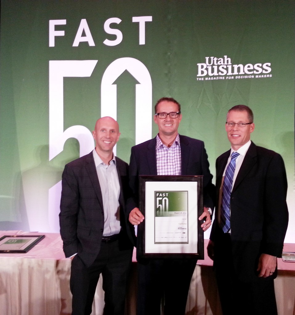 Cariloha receives Fast 50 Award