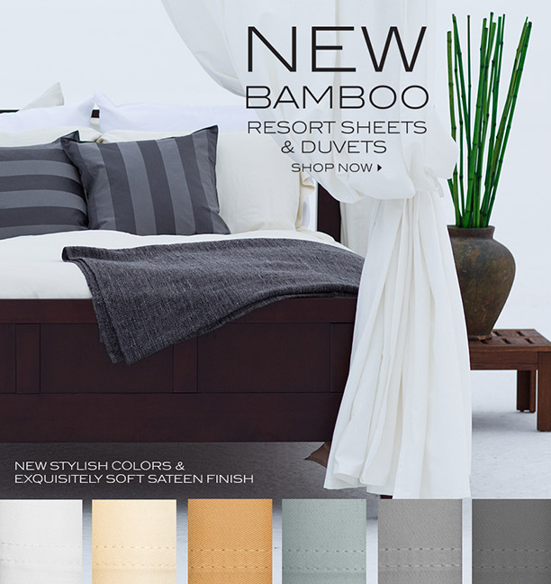 Cariloha Bamboo Resort Sheets